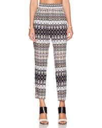Velvet By Graham & Spencer Bengal Challis Amani Pant multicolor - Lyst