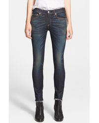 Rag & Bone Women'S 'The Crop' Skinny Jeans - Lyst