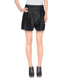 Giambattista Valli Mini Skirt black - Lyst