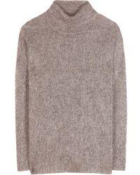 By Malene Birger Lianae Mohairblend Turtleneck Sweater - Lyst