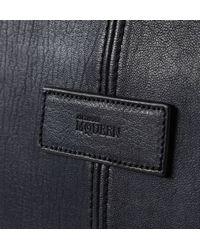 Alexander McQueen - De Manta Leather Holdall Bag - Lyst