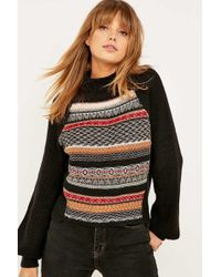 Ecote - Movie Night Fair Isle Jumper - Lyst