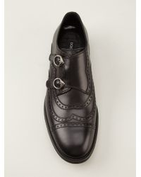 Dolce & Gabbana - Brogue Style Monk Shoes - Lyst