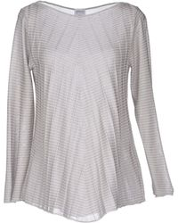 Armani Long Sleeve Jumper - Lyst