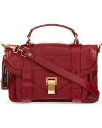 Proenza Schouler Ps1 Tiny Satchel Bag - Lyst