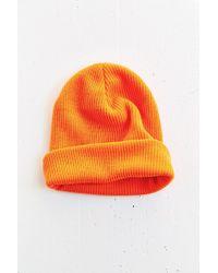 BDG Cuffed Rib-Knit Beanie - Lyst