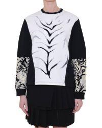 Emanuel Ungaro Printed Cotton Sweatshirt - Lyst