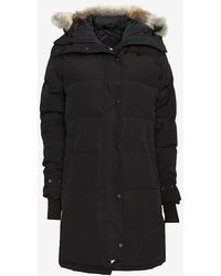 Canada Goose Shelbourne Quilted Parka: Black - Lyst
