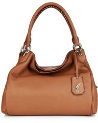 Diane von Furstenberg Sutra Leather Shoulder Bag - Lyst
