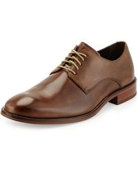 Cole Haan William Leather Lace-Up Shoe - Lyst