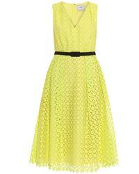 Erdem Kuni Broderie-Anglaise Cotton Dress - Lyst