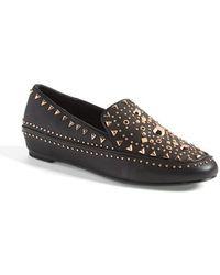 Ivy Kirzhner Studded Leather Loafer - Lyst