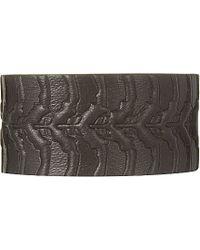 Alexander McQueen Spine Leather Wrap Bracelet - For Men - Lyst