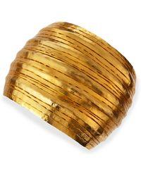 Herve Van Der Straeten Salome Gold Collar Cuff - Lyst
