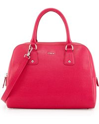 Furla Elena Leather Satchel Bag - Lyst