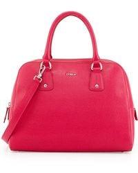 Furla Elena Leather Satchel Bag - Lyst