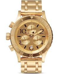 Nixon The 38-20 Chrono Watch, 38Mm - Lyst