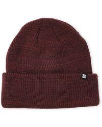 Block Headwear - Marl Knit Cuffed Scully - Lyst