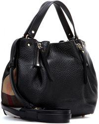 Burberry Brit Maidstone Leather Shoulder Bag - Lyst
