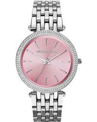 Michael Kors Womens Darci Stainless Steel Bracelet Watch 39mm - Lyst