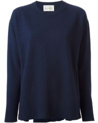 Dondup Loose Fit Crew Neck Sweater - Lyst