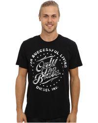 Diesel Black T-balder T-shirt - Lyst