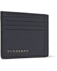 Burberry Cross-grain Leather Cardholder - Lyst