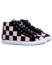Love Moschino High-Top Sneaker - Lyst