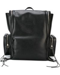 Hood By Air - Zip Detail Backpack - Lyst