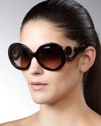 Prada Baroque Sunglasses - Lyst