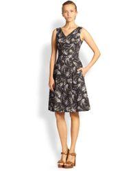 Michael Kors Elderflower Dress - Lyst