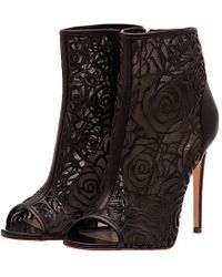 Jerome C. Rousseau Juda Leather Mesh Bootie - Lyst