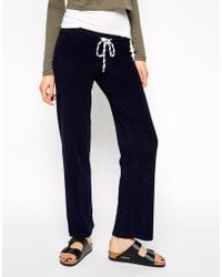 Earth Couture Track Pants with Contrast Cord - Lyst