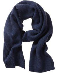Banana Republic Extra Fine Merino Wool Scarf - Blue Glory - Lyst