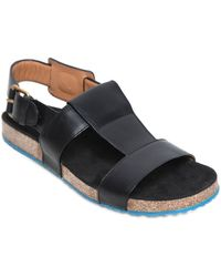 Marc Jacobs - Strap Leather Sandals - Lyst