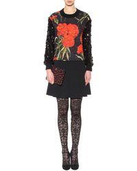 Dolce & Gabbana Embellished Brocade Sweater - Lyst