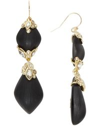 Alexis Bittar Lucite Crystal Lace Dangling Drop Earrings - Lyst