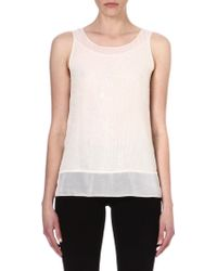 French Connection Riviera Mist Sleeveless Top - Lyst