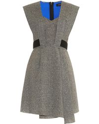 Jonathan Saunders Gabriella Flecked Wool-Blend Dress - Lyst