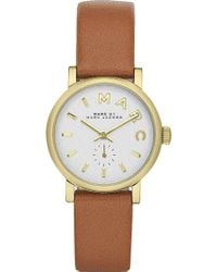 Marc By Marc Jacobs Mbm1317 Round Dial Female Watch - For Women - Lyst
