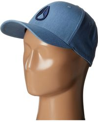 Nixon Deep Down Textured Ff Athletic Hat - Lyst