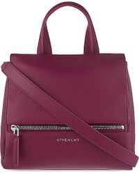 Givenchy Pandora Small Leather Satchel Bag - Lyst