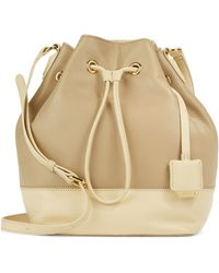 Kenneth Cole - Nevins Street Leather Bucket Bag - Lyst