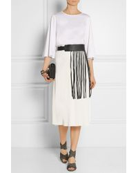 By Malene Birger - Sunda Fringed Leather Belt - Lyst