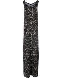 Marcelo Burlon Long Dress - Lyst