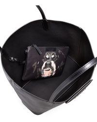 Givenchy Antigona Medium Leather Shopping Tote black - Lyst