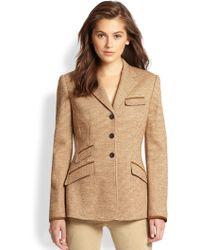 Ralph Lauren Blue Label | Tweed Jacket | Lyst