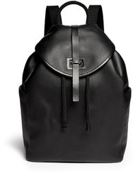 Alexander McQueen | Perforated Skull Leather Backpack | Lyst