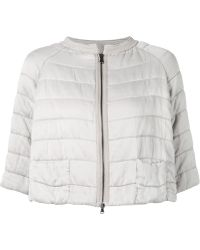 Transit Cropped Padded Jacket - Lyst