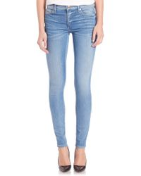 True Religion | Halle Bleached Whiskered Jeans | Lyst